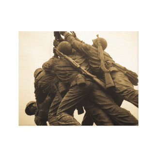 Iwo Jima Memorial in Washington DC Canvas Print