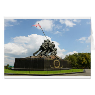 Iwo Jima Memorial in Washington DC Card