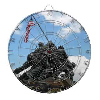 Iwo Jima Memorial in Washington DC Dartboard