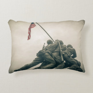 Iwo Jima Memorial in Washington DC Decorative Pillow