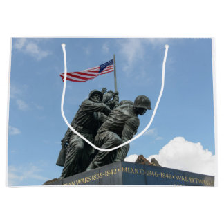 Iwo Jima Memorial in Washington DC Large Gift Bag