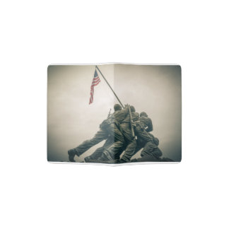 Iwo Jima Memorial in Washington DC Passport Holder