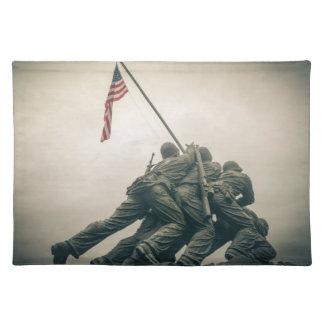 Iwo Jima Memorial in Washington DC Placemat