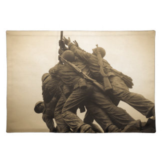 Iwo Jima Memorial in Washington DC Placemat