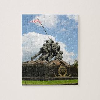 Iwo Jima Memorial in Washington DC Puzzle