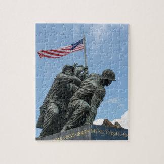 Iwo Jima Memorial in Washington DC Puzzles