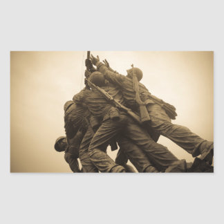 Iwo Jima Memorial in Washington DC Sticker