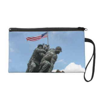 Iwo Jima Memorial in Washington DC Wristlet Purses