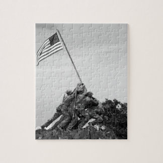 Iwo Jima Memorial Jigsaw Puzzle