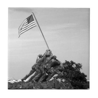 Iwo Jima Memorial Tile