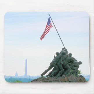 Iwo Jima Memorial Washington DC Memorial Mouse Pad