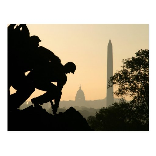 Iwo Jima Morning Postcard