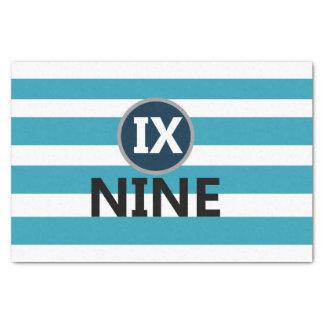 IX Nine Tissue Paper