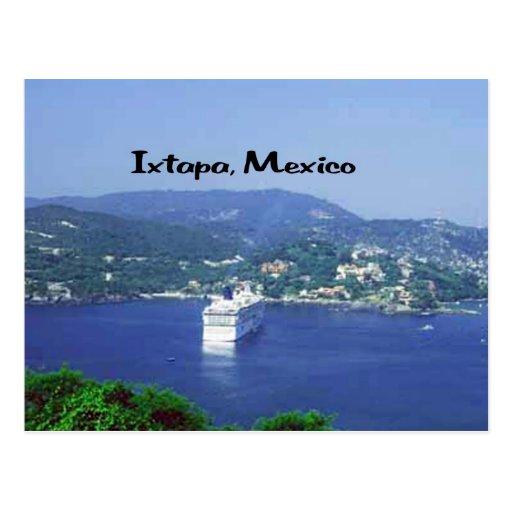 Ixtapa, Mexico Post Card