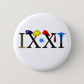IXXI  Remember 9-11 2 Inch Round Button