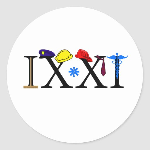 IXXI  Remember 9-11 Stickers