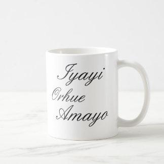 Iyayi Orhue Amayo Coffee Mug