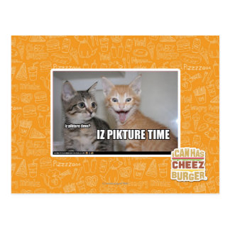 iz pikture time postcard