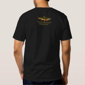 Izaak Walton Fishing Quote Tee Shirt
