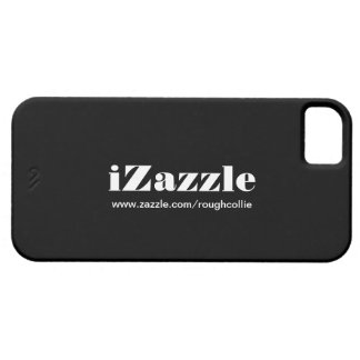 iZazzle, custom to promote your zazzle store black iPhone 5 Cover