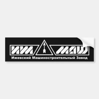 IZHMASH bumper sticker