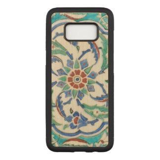 iznik ceramic tile from Topkapi palace Carved Samsung Galaxy S8 Case