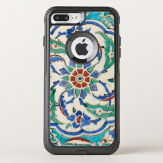iznik ceramic tile from Topkapi palace OtterBox Commuter iPhone 8 Plus/7 Plus Case