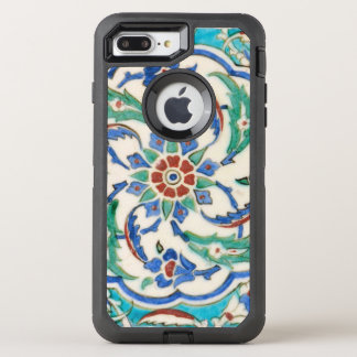 iznik ceramic tile from Topkapi palace OtterBox Defender iPhone 8 Plus/7 Plus Case