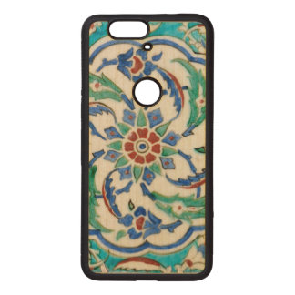 iznik ceramic tile from Topkapi palace Wood Nexus 6P Case