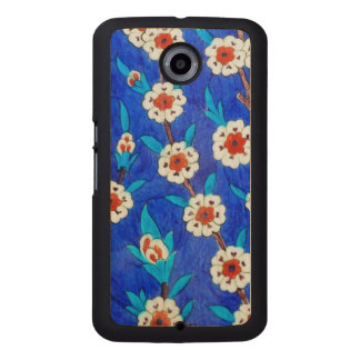 iznik tile from Topkapi palace Wood Phone Case