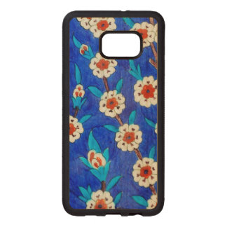 iznik tile from Topkapi palace Wood Samsung Galaxy S6 Edge Case
