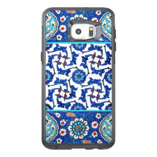 Iznik tile. Turkish floral design OtterBox Samsung Galaxy S6 Edge Plus Case