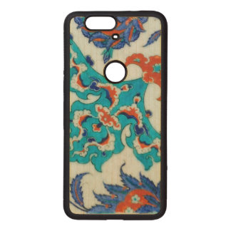 iznik tile wood nexus 6P case