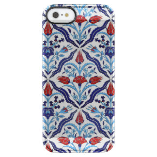 Iznik Tiles Clear iPhone SE/5/5s Case