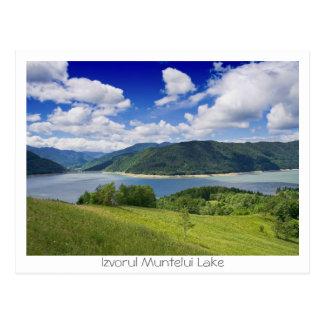 Izvorul Muntelui Lake Postcard