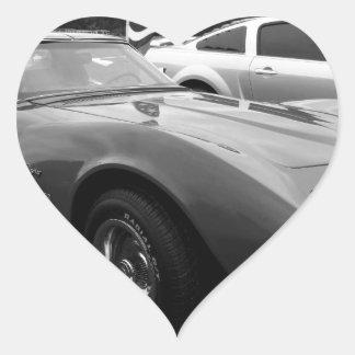 Izzie Heart Sticker