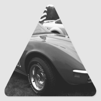 Izzie Triangle Sticker