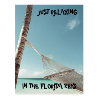 j0423125, JUST RELAXING, IN THE FLORIDA KEYS Postcard