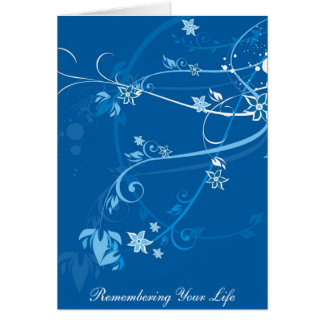 j0433046, Remembering Your Life Card