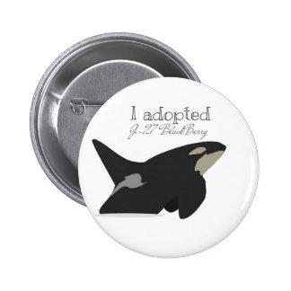 J-27 BlackBerry adoption badge 2 Inch Round Button