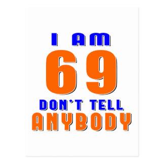 J ai 69 ans ne dis pas à quiconque des conceptions cartes postales
