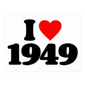 J AIME 1949 CARTE POSTALE