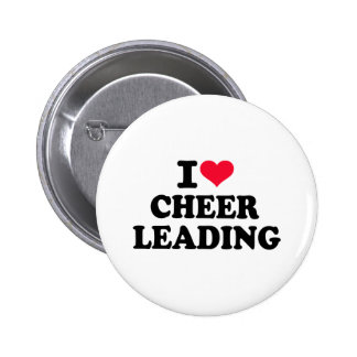 J aime cheerleading pin's avec agrafe