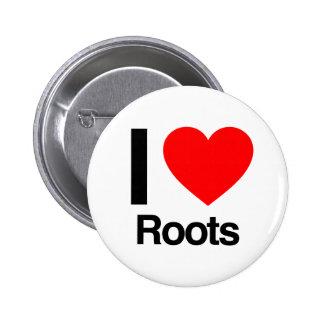 j aime des racines pin's