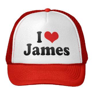 J aime James Casquettes De Camionneur