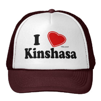 J aime Kinshasa Casquettes