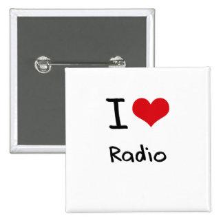 J aime la radio pin's