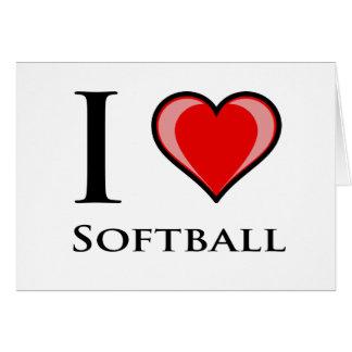 J aime le base-ball cartes