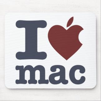 J aime le Mac Tapis De Souris