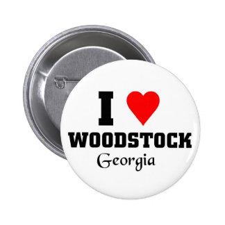 J aime le woodstock la Géorgie